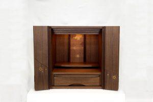 仏壇N.36 (金)家具調 フルスⅡ14号上置 ウォールナット