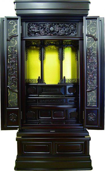仏壇N.25 (ず)紫檀調 優久18×43