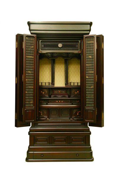 仏壇N.28 (ず)紫檀系 清都18×43