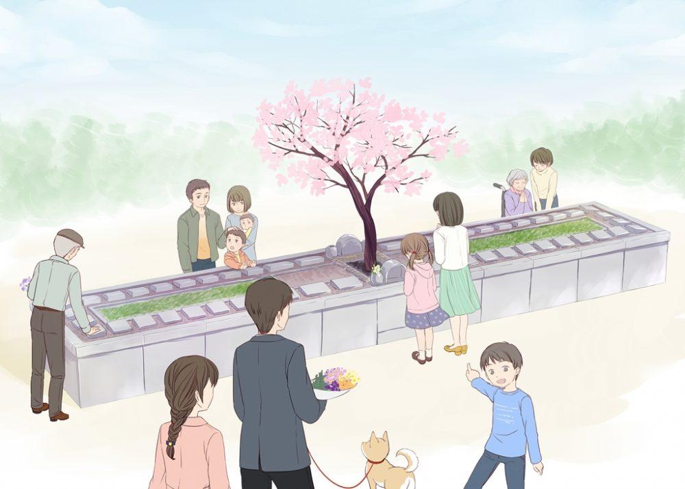 見附市初の個別型樹木葬「こもれ...